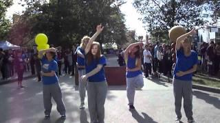 UBC Dance Horizon's Thunderbird Dance Team Presents on UBC Imagine Day on campus(09/07/2010)