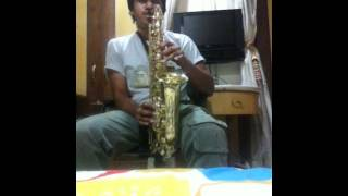 karz famous tune and jaadu teri nazar (1 para) on my alto sax!
