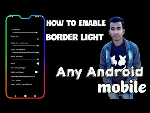 Download thumbnail for how to enable border light any