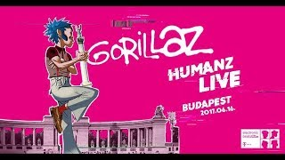 GORILLAZ experience Budapest / Telekom