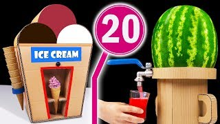 TOP 20 Amazing ideas and School Projects from Cardboard