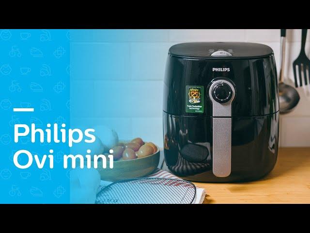 Philips Ovi Mini: piecze, smaży, grilluje powietrzem | Test Philips HD9721/10 - smart gotowanie