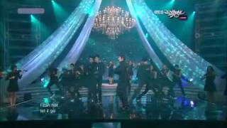 [HD] Ss501 - Love'ya Live performance on Music bank! 4/6/10