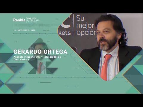 """Gerardo Ortega, analista y colaborador con CMC Markets, dedicó su charla magistral a introducir los procesos de convergencia y divergencia entre los activos. Según destacó el ponente, """"la tendencia se cuestiona cada vez que se ataca un alto previo""""."""