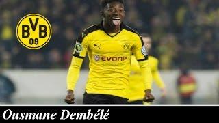 Ousmane Dembélé - Young Star - Goals, Skills, Assists | Borussia Dortmund | 2016 HD