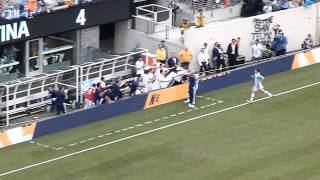 Argentina vs. Brazil - 2012 Friendly - 4th Argentinian Goal, Messi (4-3) Live from MetLife Stadium!