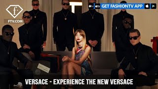 Versace Wants You To Experience the New Versace.com | FashionTV | FTV