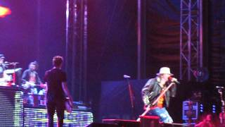 Guns N' Roses - Dead flowers - live Bucharest 2012