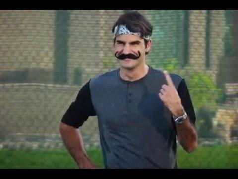 Faze haioase cu Roger Federer