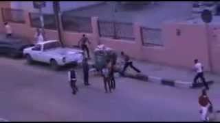Luta depois de um casamento em Luanda