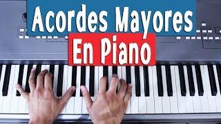 ¡Aprende a Tocar Todos los Acordes Mayores En Piano!