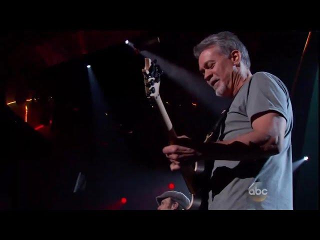 Video de Van Halen tocando en concierto Panama