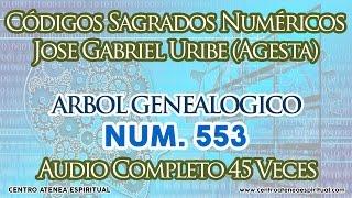 CODIGOS SAGRADOS NUMERICOS ARBOL GENEALOGICO 553.