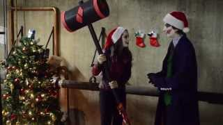 A Joker and Harley Quinn Christmas