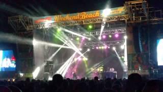 Weekend Beach 2015 Torre del Mar   Chambao  Comeme