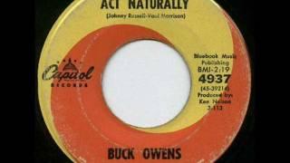 Buck Owens & the Buckaroos - Act naturally (1963)