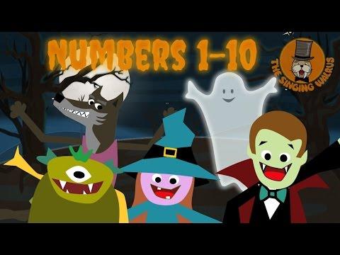 Halloween Song for Kids | Halloween Creatures | The Singing Walrus - YouTube