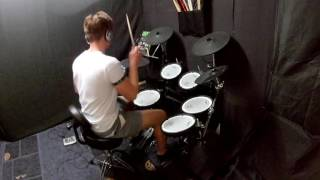 Kungs vs Cookin' on 3 burners - this girl drum cover - Finn Smith