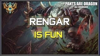 ✔ Rengar is FUN - Mini Challenger Montage | League of Legends