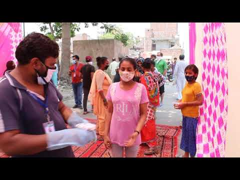 COVID-19 Distribution of Food, Grocery-Kits, Sanitizers in slums/JJ Colonies in Delhi