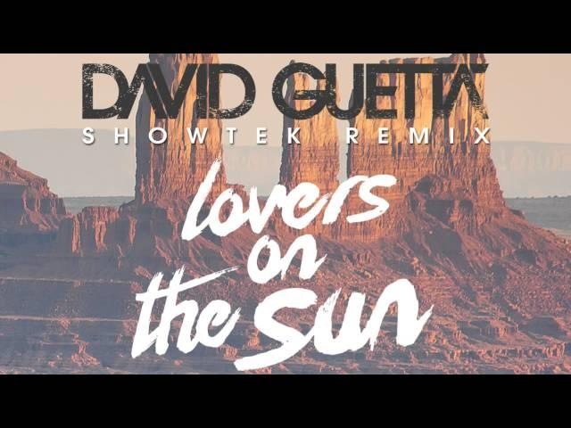 Audio del remix de la canción Lovers On The Sun ft. Sam Martin de Showtek