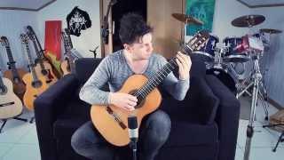 "Elfen Lied ""Lilium"" on Classical Guitar by Fabio Lima"