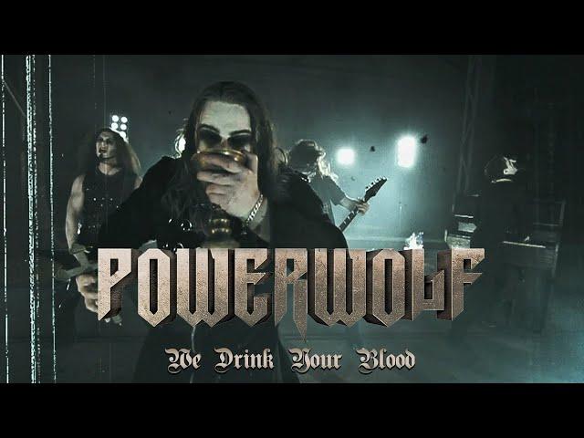 Videoclip ''We Dring Your Blood'' de Powerwolf