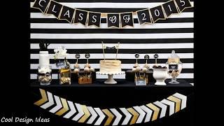 DIY High School Graduation Party Decorations Ideas