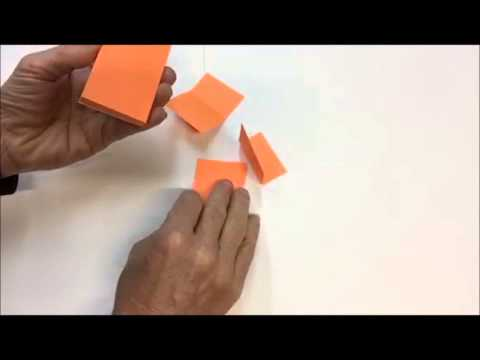 撕法 How to Peel a Sticky Note - YouTube