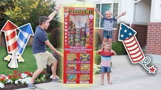 GIANT FAMILY FIREWORKS! (Watch OUT!) width=