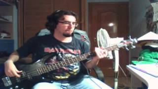 Airbourne - Live it up (Bass Cover)