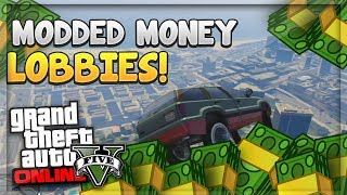 GTA 5 ONLINE FREE MODDED MONEY LOBBY, MONEY GLITCH 1.40 (PS4/Xbox One/PS3/Xbox 360/PC)