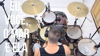 Eu, você, o mar e ela - Luan Santana - Drum Cover