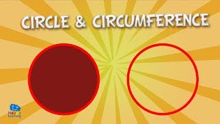 Circle and circumference | Educational Video for Kids.