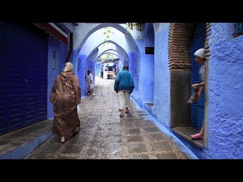 "CHEFCHAOUEN / MOROCCO : Blu-ray ""WORLD – CRUISE"" #04"