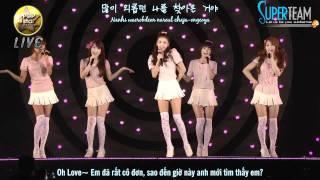 [Vietsub]  KARA  (ft Infinite) - Couple (Sechskies) (K-pop All Star Live in Nigata)