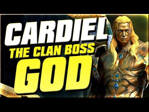 Cardiel is INSANE in the Clan Boss I Raid Shadow Legends