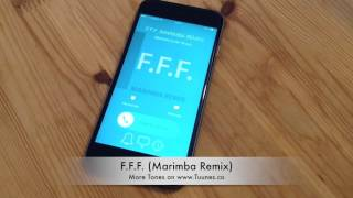 F.F.F. Fuck Fake Friends Ringtone (Bebe Rexha Tribute Marimba Remix Ringtone) • For iPhone & Android