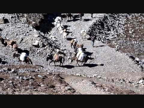 Nepal Annapurna random video clips Oct 2011