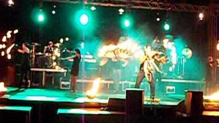Leo Rojas- Der letzte Mohikaner mit den Firedancer 2012 Detmold