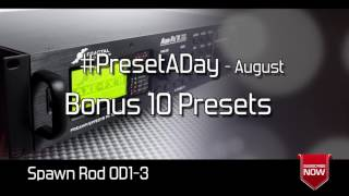#PresetADay - August Bonus Amps - AXE FX II / AX8 Solo Patches (NeoGeofanatic Solos)