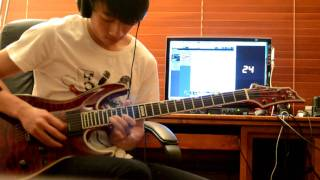 Black Veil Brides - Perfect Weapon (Live Guitar Solo Cover)