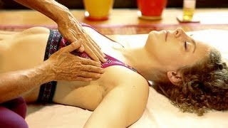 Lymph Drainage Breast Massage Therapy Technique How To, Athena Jezik Psychetruth width=