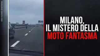 Milano, il mistero della moto fantasma