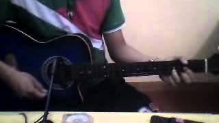 Crazy for you - Spongecola acoustic cover by rj