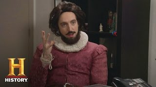 Great Minds with Dan Harmon: Shakespeare Preview (feat. Thomas Middleditch) | Night Class | History