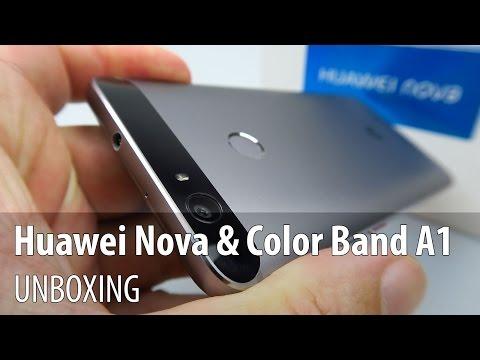 Huawei Nova & Huawei Color Band A1 Unboxing în Limba Română