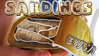 Dad Dared Me To: Eat Canned Sardines
