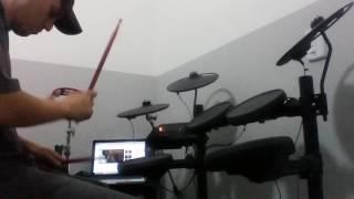 Kelly Key - Cachorrinho (drum cover) by Thiago Cury