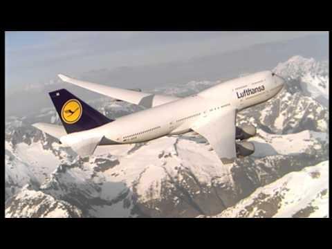 Landung in Kapstadt, Cockpit, Boeing 747